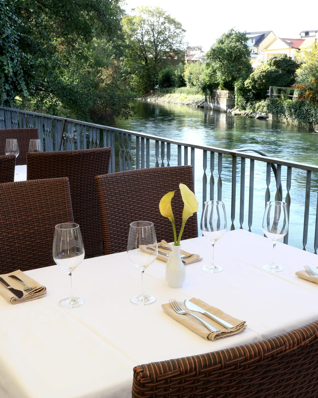 Restaurant Venezia in Fürstenfeldbruck - Terrasse Gallerie 2